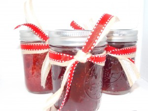 Strawberry jam, y'all.